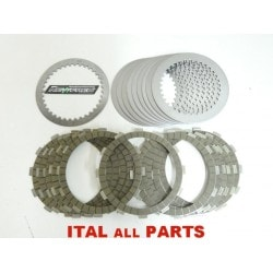 DISQUES EMBRAYAGE GARNIS + LISSES NEWFREN pour DUCATI MONSTER 1100-1200 / PANIGALE 1199 / DIAVEL / MULTI 1200