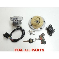 SERRURES A CLE DUCATI MONSTER / ST / 748 / 916 / 996 / 998 - 65240043A / 65240042A